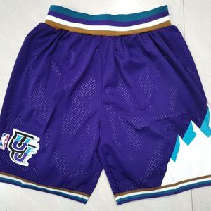 Utah Jazz Purple Snow mountain Shorts